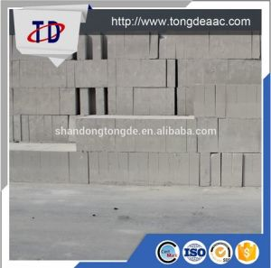 China AAC Factory Concrete Block