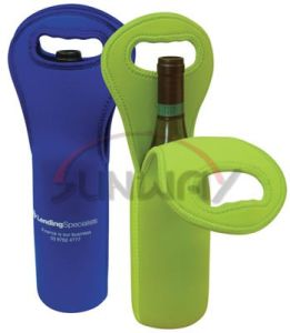 Tote Bag, Hot Sale Insulated Neoprene Wine Bottle Cooler (BC0028) pictures & photos