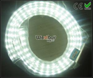 Crystal PVC Skin White LED Neon Flex 110V Standard