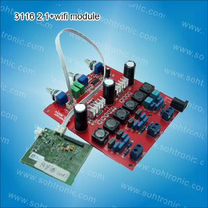 2.1 Tpa3116 Digital Amplifier Module (100W+50+50W) pictures & photos