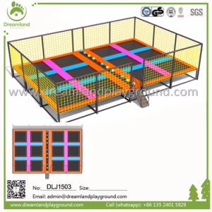 Fitness Trampoline, Trampolines with Foam Pit Blocks for Sale pictures & photos