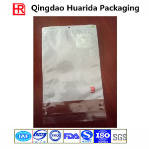 Self Adhesive Transparent Plastic Garment Packing Bag with Hang Hole pictures & photos