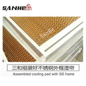 Stainless Steel Frame Cooling Pad Wall-Lee pictures & photos