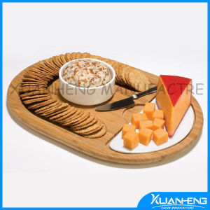 Bamboo Kitchenware Cutting Cheese Board pictures & photos