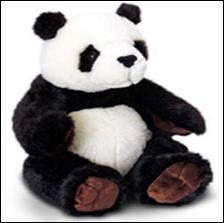 Stuffed Toy Panda (ER095)