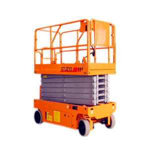 12m Height Battery Self Propelled Scissor Lift Aerial Work Platform pictures & photos