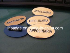 Electric Signage, Electric Plated Chip, Nameplate (1006A)