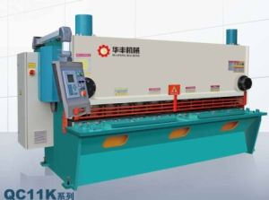 Hydraulic Nc & CNC Guillotine Shearing Machine pictures & photos