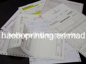 Carbonless Paper Printed Forms