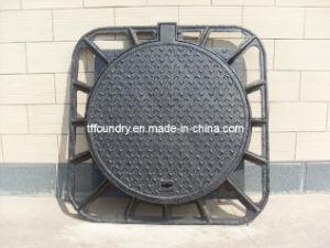 Algerian Ductile Iron Manhole Cover En124 D400 pictures & photos