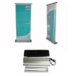 Scrolling Type Roll up Screen Banner Stand Display (SR-03) pictures & photos