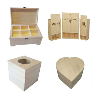 Wooden Box for Wine & Storage & Gift pictures & photos