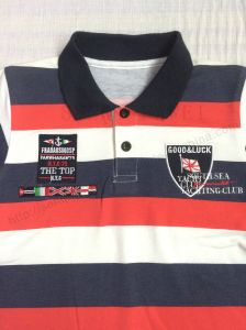 Hot Sale Boy Strip Polo Shirt in Kids Clothes Sq-6264 pictures & photos