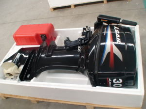 2-Stroke 30hpoutboard Motor With Electric Start and Tiller Control pictures & photos