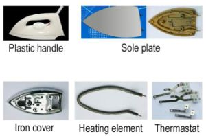 Sole Plate/Heating Element /Chrome Cover/ Electric Iron Parts