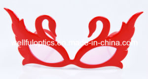 Party Holiday Christmas Decoration Glasses Swan Glass Frame