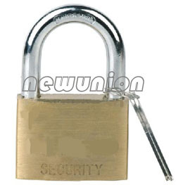 Polished Combination Brass Padlock