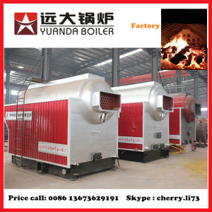 Dzh1-1.0 Steam Temperature 184c 1t Wood Steam Boiler pictures & photos