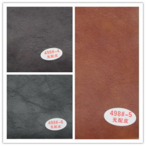 Factory Offered PVC Artificial Leather for Car Seat Decoration (Hongjiu-498#) pictures & photos