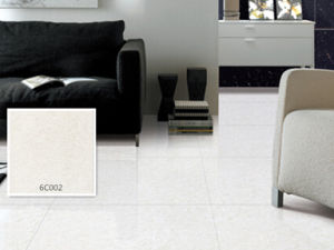 Half Body Polished Porcelain Crystal Jade White Color Floor Tile pictures & photos
