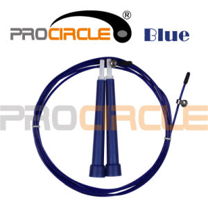 Colorful PVC Steel Cable Jump Rope (PC-JR1045) pictures & photos