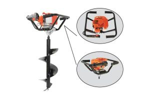 Electric Guardrail Fence Post Driver