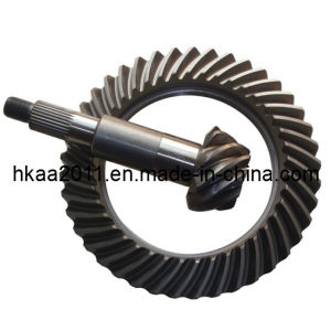 Custom Machining Crown Wheel Small Spiral Bevel Gear, Helix Gear pictures & photos