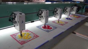 Hye-C612/400*900*1200 Chenile Computerised Embroidery Machine pictures & photos