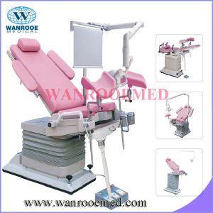 a-S104A Electric-Hydraulic Gynecology Table with Auto Adjustment pictures & photos