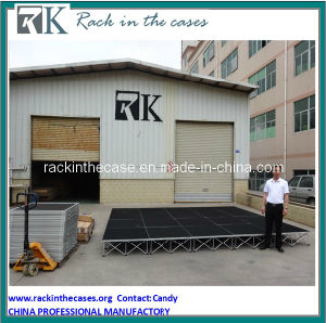 Rk on Sale Aluminum Portable Stage pictures & photos