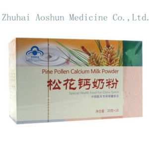 Pure Natural Immediate Pine Pollen Calcium Milk Powder pictures & photos