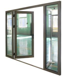High Quality Hurricane Impact Thermal Break Aluminum Casement Glass Door (ACD-024) pictures & photos