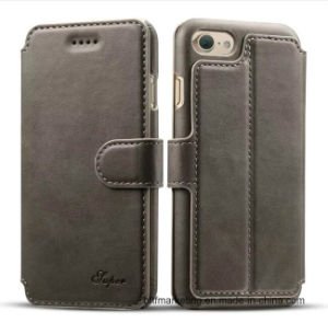 Premium Leather Wallet Mobile Cell Phone Case for iPhone 8/8plus/7/7plus pictures & photos