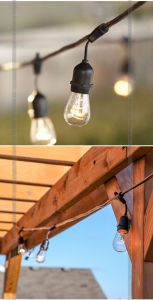 UL S14 Bulbs LED Outdoor Weatherproof Commercial Grade String Lights pictures & photos