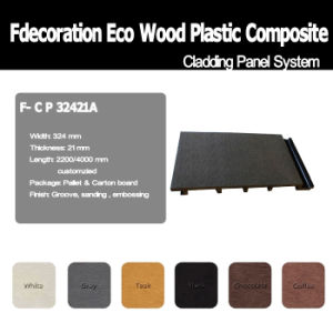 Eco Friendly Waterproof Exterior WPC Wall Cladding pictures & photos