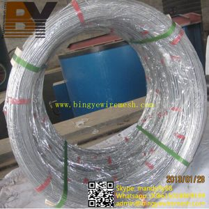 Galvanized Double Single Loop Rebar Baling U Bagtie Wire pictures & photos