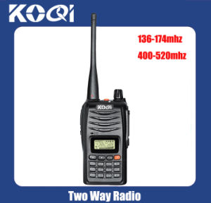UHF 400-520MHz VHF 136-174MHz Police Walkie Talkie pictures & photos