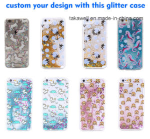 Fancy Quicksand Case Mobile Phone Cover for Samsung Galaxy A7 Liquid Sand Phone Case pictures & photos