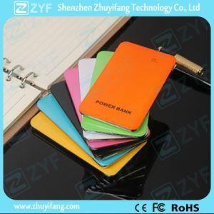 Multicolor Touch-Sensitive Design 5000mAh Power Bank (ZYF8053) pictures & photos