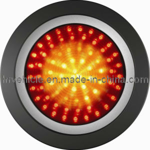 4′′ Round LED Stop Tail Indicator Lamp Truck Trailer pictures & photos