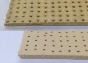10mm X 0.9m X 1.8m Perforate Silicone Sponge Sheet, Silicone Foam Sheet for Ironning Table pictures & photos