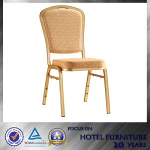 Stackable Aluminum Banquet Chair for Wedding Hall Used 12081