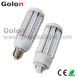 LED Pl Lamp 15W 360 Degree Light Angle, 1400lm 100-277VAC, E27, E26, B22, Gx24D, Gx24q LED Corn Bulb 15W pictures & photos