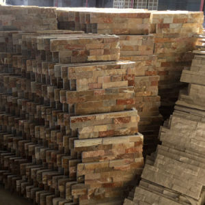 China Factory Culture Slate Stacked Stone pictures & photos