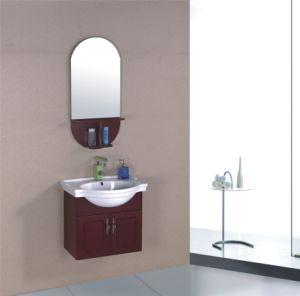 60cm PVC Bathroom Cabinet Furniture (B-323) pictures & photos