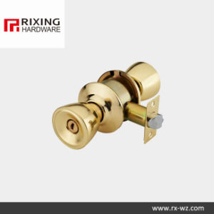 Iron or Stainless Steel Cylindrical Knob Lock (588) pictures & photos