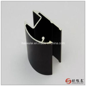 Aluminum Motor Parts Profile with Anodization Black