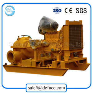 High Volume Diesel Engine Double Suction Industrial Pump pictures & photos