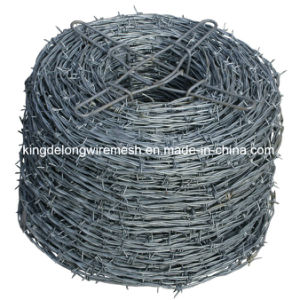 Galvanized High Tensile Barbed Wire pictures & photos