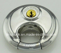 Stainless Steel Discus Padlock with Shrouded Shackle (203) pictures & photos